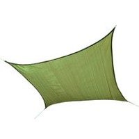 ShadeLogic Sun Shade Sail Heavy Weight 12 ft. Square - Lime Green