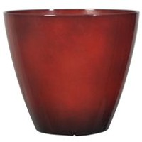 "hometrends Decorative 12"" Plastic Planter Red"