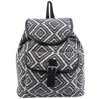 Woven Fashion Backpack