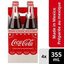 Coca-Cola de México 4x355mL