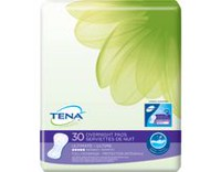 Serviettes d'absorption ultime de TENA(MD) pour flux de nuit