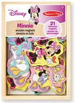 Melissa & Doug Aimants en bois Minnie