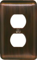 Atron Electro Industries Elite Antique Copper Duplex Wall Plate