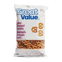 Bretzels tressés mini de Great Value