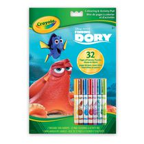 Crayola Finding Dory Colouring and Activity Pad
