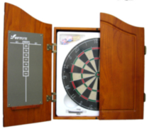 Swiftflyte Dartboard & Cabinet Set