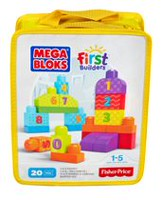 Mega Bloks First Builders 1-2-3 Count Playset
