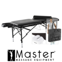 "Master Massage 30"" SportPro Ultra-Light LX Massage Table Package"