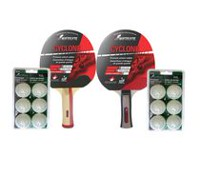 """Cyclone"" Table Tennis Racket Set"