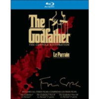The Godfather Collection: The Coppola Restoration - The Godfather / The Godfather II / The Godfather III (Blu-ray)