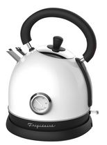 Frigidaire 1.8L Retro Stainless Steel Electric Kettle - White