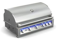 "Broilchef PRO-SERIES 40"" Built-in LP Gas Grill BBQ - BCP-600S"