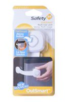 Safety 1st HS2700300 OutSmart Multi-Use Lock with Decoy Button