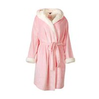 George Women's Sherpa-Lined Robe S-M