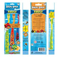 Angry Birds Firefly Brosse à dents, paq. de 3