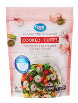 Great Value Cooked Pacific White Shrimp