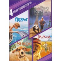 4 Film Favorites: Family Adventures: Flipper / Amazing Panda Adventure / Shiloh / Duma