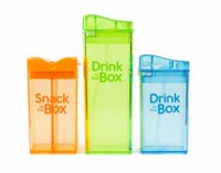 Drink in the Box Boys' 12 oz and 8 oz Drink and Snack Box Value Pack