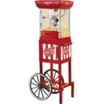 "48"" Old fashioned movie time popcorn cart"