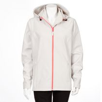 Athletic Works Women's Short Soft Shell Jacket White M/M