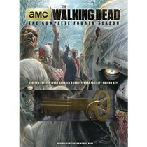 The Walking Dead: The Complete Fourth Season (DVD + CD Soundtrack + Prison Key) (Walmart Exclusive)
