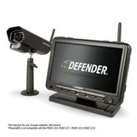 Defender Digital Wireless Security System with Night Vision Camera