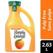 Simply Orange Jus d'orange sans pulpe 2.63 L