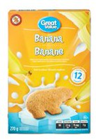 Great Value Banana Soft Cookies