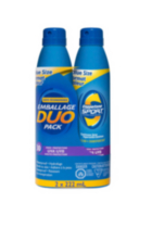 Coppertone Sport® Sunscreen Clear Continuous Spray Duopack - SPF 30