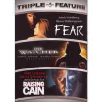 Fear / The Watcher / Raising Cain Triple Feature