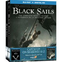 Black Sails: The Complete First And Second Seasons (Blu-ray + Digital HD) (Bilingual)