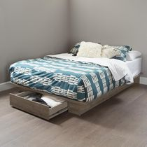 South Shore, Holland collection, Platform Bed with drawer