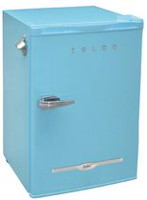 3.2 CU T  RETRO BAR FRIDGE, BLUE