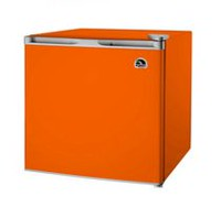 1.6 CU FT BAR FRIDGE, ORANGE