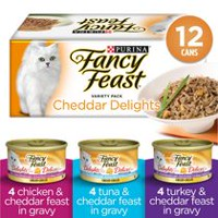 Purina® Fancy Feast® Cheddar Delights Grilled Variety Pack Cat Food