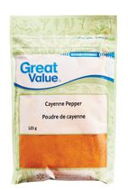 Épice poivre de Cayenne de Great Value