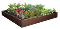 D.F. Omer 8 Panel Raised Garden Bed