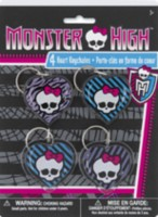 Monster High Heart Keychains