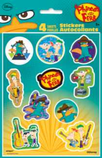 Phineas & Ferb Stickers