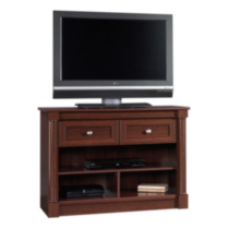 Sauder, Highboy TV Stand, Select Cherry Finish, 412317