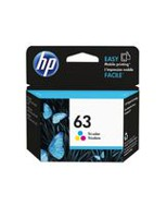 HP 63 Tri-color Original Ink Cartridge - F6U61AN