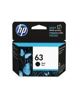 HP 63 Black Original Ink Cartridge - F6U62AN