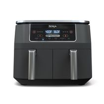 Ninja DZ201C, Foodi 6-in-1 8-qt. 2-Basket Air Fryer with DualZone Technology, Black, 1690W