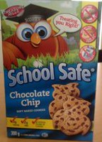 School Safe Chocolate Chip Soft Baked Cookies