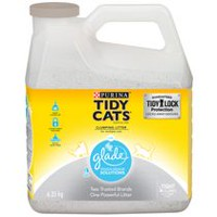 Purina(MD) Tidy Cats(MD) avec Glade(MC) Source Pure(MC) Litière pour Chats Agglomérante 6.35KG
