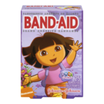 BAND-AID® Brand Adhesive Bandages Dora the Explorer™ Assorted 25's