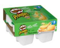 Pringles Snack Sour Cream Potato Chips