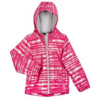 Athletic Works Girls' Hooded Bonded Jacket Pink 5