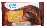 Great Value Fudge Covered Peanut Butter Filled Cookies