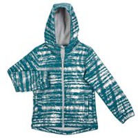 Athletic Works Girls' Hooded Bonded Jacket Green S